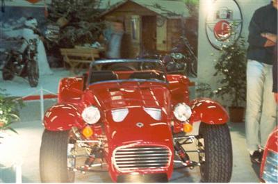 Donkervoort retromobile